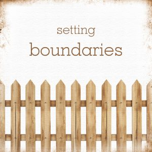 Are Boundaries Necessary?