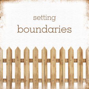 Are Boundaries Necessary?